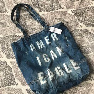 AE Denim Bag